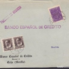 Sellos: F29-11-GUERRA CIVIL .FRONTAL ECIJA (SEVILLA) 1936. LOCAL Y SELLOS REPUBLICANOS. Lote 175592904