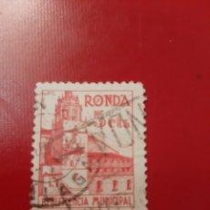 Sellos: RONDA BENEFICENCIA 5 CTS. Lote 176674183