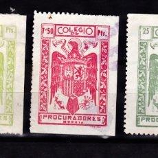 Sellos: LOTE COLEGIO DE PROCURADORES DE MURCIA. Lote 176955024