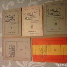 Sellos: BOLETIN DE SELLOS GUERRA CIVIL AÑO 1938 MUY RAROS EDITADOS EN CADIZ. Lote 177004415