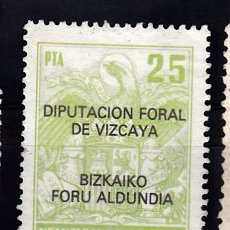 Sellos: DIPUTACION FORAL VIZCAYA. Lote 177077763
