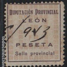 Selos: LEON. - 2 PTAS-- DIPUTACION PROVINCIAL-- VER FOTO. Lote 177553769