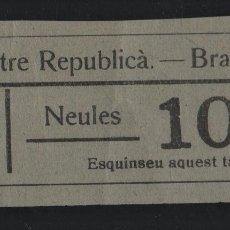 Sellos: BRAFIN. 10 CTS. -CENTRE REPUBLICA- VER FOTO. Lote 177554702