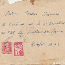 Sellos: CENSURA: ALCALA DE GUADAIRA (SEVILLA) A ESTAFETA 93 DE SEVILLA. Lote 178277590