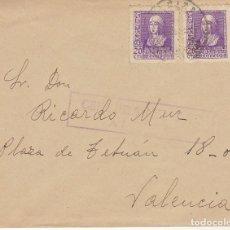Sellos: CORBERA DE ALCIRA A VALENCIA. 1939.. Lote 178277726