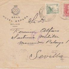 Francobolli: CENSURA: BEJAR (SALAMANCA) A SEVILLA.. Lote 178343046