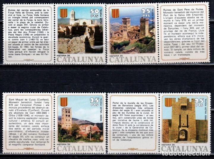 Sellos: FILATELIA. HISTORIA DE CATALUNYA. BARNAFIL. GIRONA 1980 **,MNH ( VER FOTOS) - Foto 8 - 178598291
