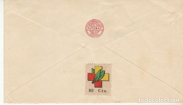 Sellos: CENSURA: BILBAO aSEVILLA.1938 - Foto 2 - 178659457