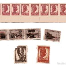 Sellos: M95 LOTE 15 VIÑETAS MONTSERRAT 1929-1947. Lote 178690610