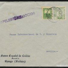Sellos: AZUAGA (BADAJOZ) A SEVILLA.. Lote 178719271