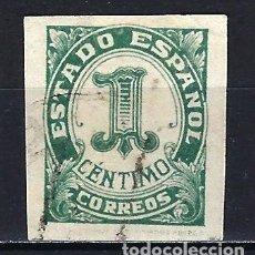 Sellos: ESPAÑA - 1937-1940 - CIFRAS - EDIFIL 814 - USADO. Lote 178905986