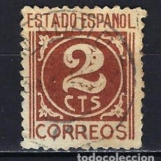 Francobolli: ESPAÑA - 1937-1940 - CIFRAS - EDIFIL 815 - USADO. Lote 178906133
