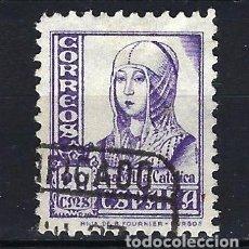 Sellos: ESPAÑA - 1937-1940 - ISABEL LA CATÓLICA - EDIFIL 821 - USADO. Lote 178906443