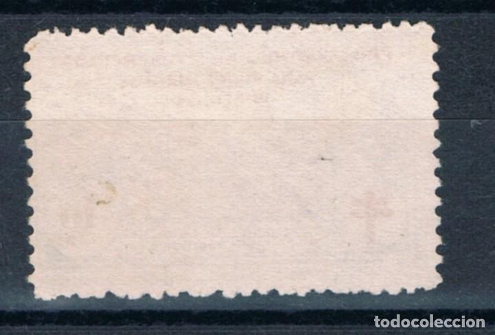 Sellos: Guerra Civil. Sello benefico Pro Sanatorio Antituberculoso 10 cts º LOT010 - Foto 2 - 178936012
