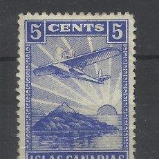 Sellos: ISLAS CANARIAS 5 CTS NUEVO(*). Lote 179031540
