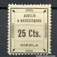 Sellos: ESPAÑA GUERRA CIVIL. NIEBLA (HUELVA). EDIFIL 3 **. Lote 179067690