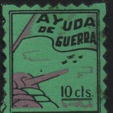 Sellos: - LLACOVA-, 10 CTS,-- AYUDA DE GUERRA-- VER FOTO. Lote 179070665