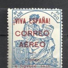 Sellos: 2798-SELLO LOCAL BURGOS GUERRA CIVIL FISCAL HABILITADO PARA USO EN CORREO AEREO SEGÚN ORDEN DE 1936.. Lote 179315571