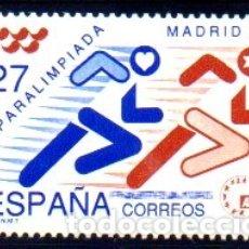 Sellos: ESPAÑA. AÑO 1992.- PARALIMPIADA MADRID 92, EN NUEVO. Lote 179953991