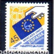 Sellos: ESPAÑA. AÑO 1992.- MERCADO ÚNICO EUROPEO, EN NUEVO. Lote 179954501