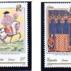 Sellos: ESPAÑA. AÑO 1992.- PATRIMONIO ARTÍSTICO NACIONAL. CÓDICES, EN NUEVOS. Lote 179955868