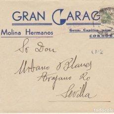 Sellos: CENSURA: CÓRDOBA A SEVIILLA.1938. Lote 180087685