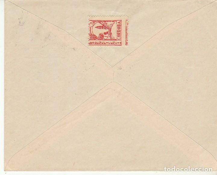 Sellos: CENSURA: CÓRDOBA a SEVIILLA.1938 - Foto 2 - 180087685