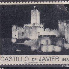 Sellos: CC11- VIÑETA CASTILLO DE JAVIER. NAVARRA. NUEVO ** SIN FIJASELLOS. PERFECTA 40 X 65 MM. Lote 180172195