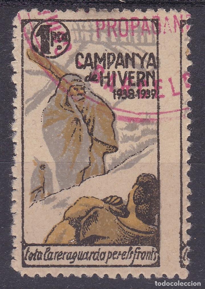 CC12- GUERRA CIVIL. CAMPANYA DE HIVERN. NUEVO (*) SIN GOMA (Sellos - España - Guerra Civil - Viñetas - Nuevos)