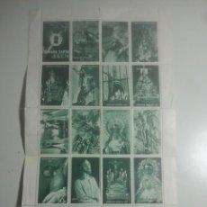 Sellos: JAÉN - SEMANA SANTA - AGRUPACIÓN DE COFRADÍAS - 20 SELLOS / VIÑETAS - FOURNIER, 1968 - HOJA COMPLETA. Lote 180201925