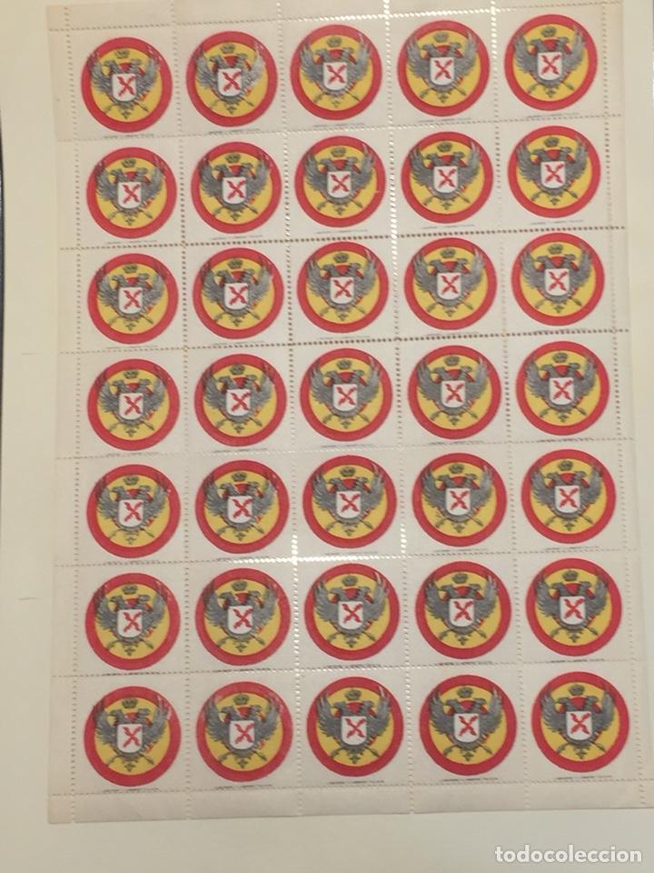Sellos: Requetes viñeta n 11 hoja completa 35 viñetas Nuevo - Foto 2 - 180226512