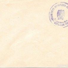 Sellos: GUERRA CIVIL. REGIMIENTO AMERICA Nº 23 BATALLON 141 3ª COMPAÑIA. Lote 181077977