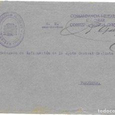 Sellos: GUERRA CIVIL. FRONTAL CIRCULADO DE ELGOIBAR A PAMPLONA.. Lote 181084826