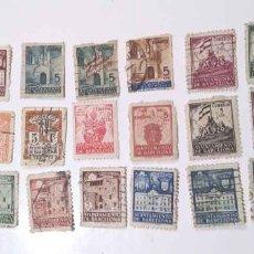 Sellos: LOTE 25 SELLOS AYUNTAMIENTO DE BARCELONA. Lote 181764138