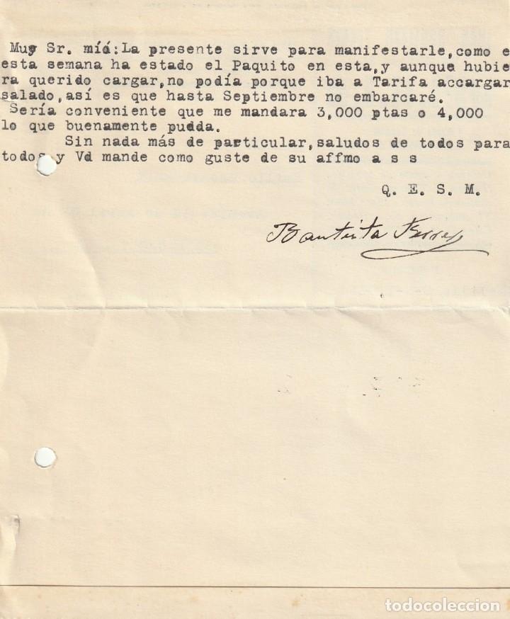 Sellos: TARJETA POSTAL PRIVADA (1935) (CIRCULADA SIN MATASELLAR) - Foto 2 - 181999621