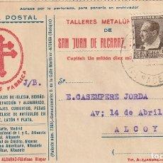 Sellos: TARJETA POSTAL PRIVADA (1936). Lote 182000876