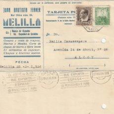 Sellos: TARJETA POSTAL PRIVADA (1936). Lote 182001001