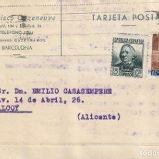 Sellos: TARJETA POSTAL PARTICULAR (1937). Lote 182014822