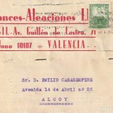 Sellos: TARJETA POSTAL PARTICULAR (1936). Lote 182014956