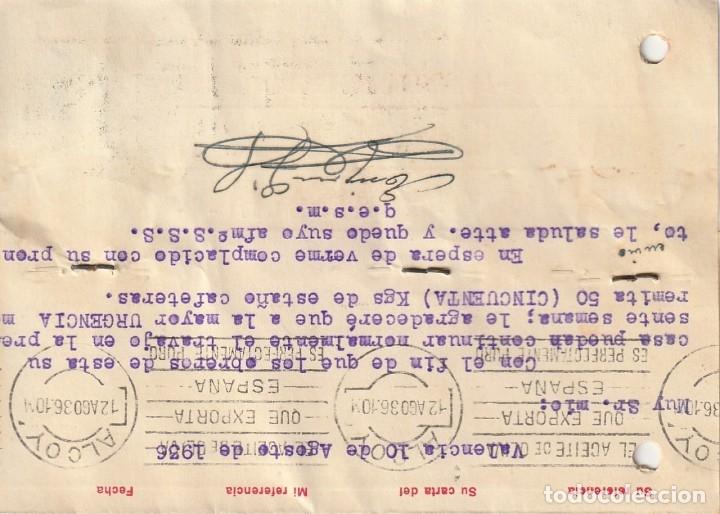 Sellos: TARJETA POSTAL PARTICULAR (1936) - Foto 2 - 182014956