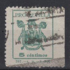 Sellos: 1936 PRO SEVILLA BENEFICO 5 CENTIMOS (º). Lote 182247525