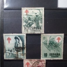Sellos: SELLOS CAMPAÑA NACIONAL ANTITUBERCULOSIS. ESPAÑA. ENVÍO GRATIS. Lote 182483577
