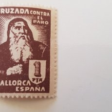 Sellos: CRUZADA CONTRA EL PARO-5 PESETAS MALLORCA. Lote 182601388