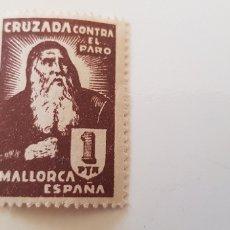 Sellos: CRUZADA CONTRA EL PARO-5 PESETAS MALLORCA. Lote 182601527