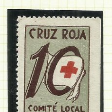 Sellos: 8051F--VIÑETA ESPAÑA GUERRA CIVIL BADALONA CRUZ ROJA COMITÉ AYUDA BARCELONA. SPAIN CIVIL WAR,GUERRA . Lote 182889586