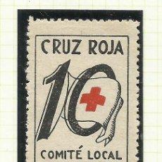 Sellos: 8051G--VIÑETA ESPAÑA GUERRA CIVIL BADALONA CRUZ ROJA COMITÉ AYUDA BARCELONA. SPAIN CIVIL WAR,GUERRA . Lote 182889658