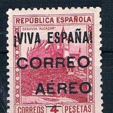 Sellos: ESPAÑA EMISION LOCAL PATRIOTICOS.BURGOS.CORREO AÉREO MNH** CON MARQUILLAS CRISTIAN VER DOS FOTOS. Lote 182913813