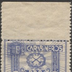 Sellos: PRO HUÉRFANOS CARABINEROS - GÓMEZ GUILLAMÓN 2107 DOMÈNECH-AFINET 1207. Lote 182960612
