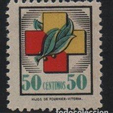 Sellos: FRENTE Y HOSPITALES, 50 CTS, NUEVO, VER FOTO. Lote 183472421