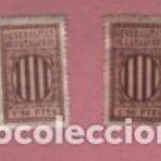 Timbres: 2 VIÑETAS TIMBRES DE LA GENERALITAT DE CATALUNYA VARIEDAD 1,50 PTES. Lote 183483212